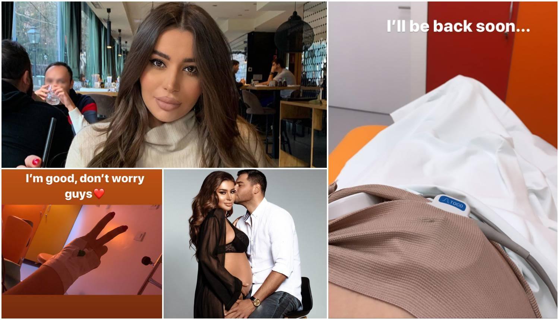 Perić je završila u bolnici u 8. mjesecu trudnoće: 'Ne brinite'