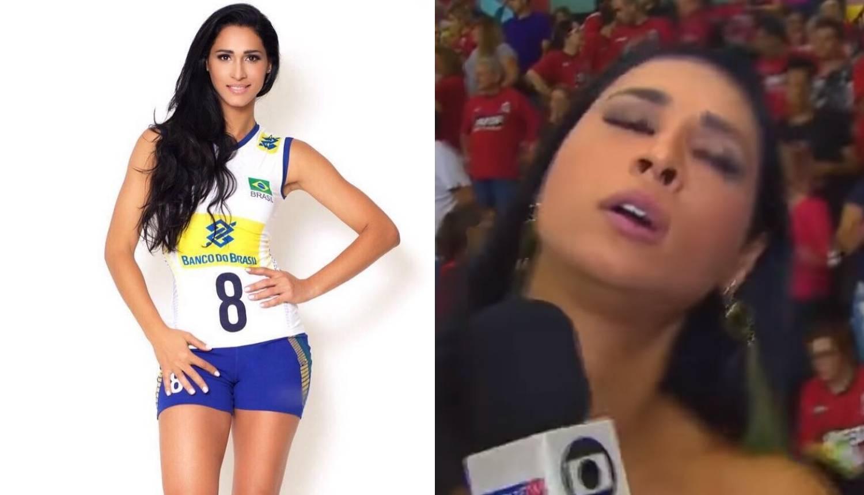 Drama u eteru: Lijepa brazilska odbojkašica pala u nesvijest...