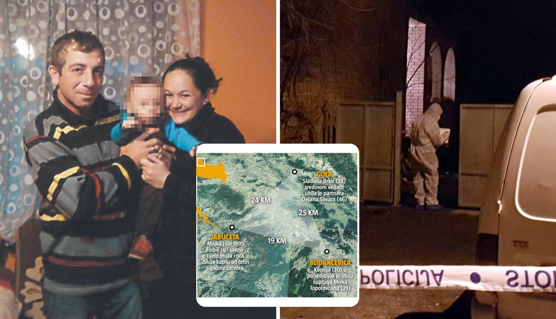 Trokut zla u Podravini: U dva mjeseca dva krvava ubojstva...
