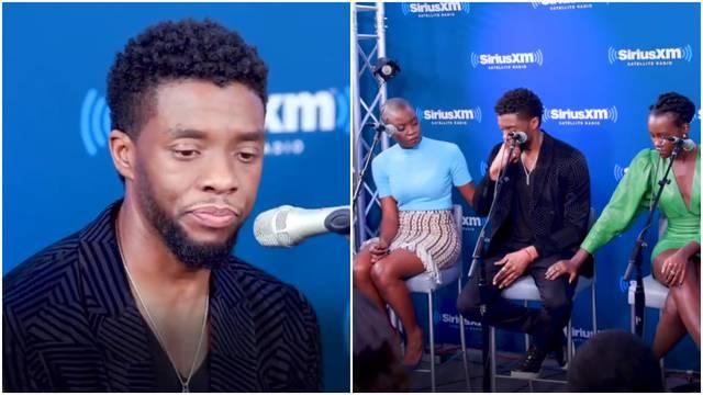 Chadwick pričao o bolesnoj djeci pa se rasplakao tijekom showa