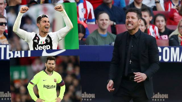 Simeone: Ronaldo je bolji od Messija, a razlog je samo jedan