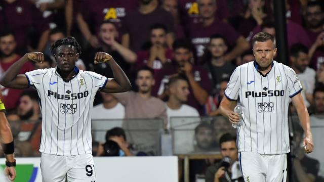 Italian football Serie A match - US Salernitana vs Atalanta BC