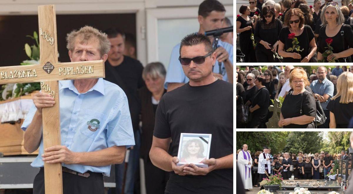 Tuga u Selcima Đakovačkim: Pokopali su ubijenu Blaženku