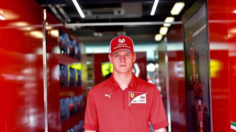 Schumacher debitira u F1: Mick će u Njemačkoj odvoziti trening
