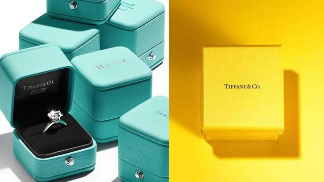 Tiffany & Co. slavnu plavu boju nakratko mijenja - sunčana žuta
