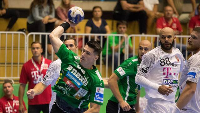 Našice: Prva četvrtfinalna utakmica SEHA lige, RK Nexe - Veszprem