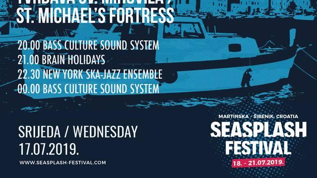 Objavljena satnica 17. Seasplash festivala