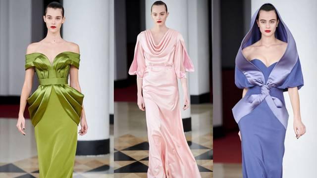 Poput morskih sirena: Alexis Mabille predlaže svilu i saten