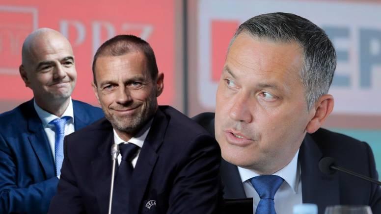 Čeferin poželio sreću Kustiću: Trebaš samo pitati kako Uefa može pomoći hrv. nogometu