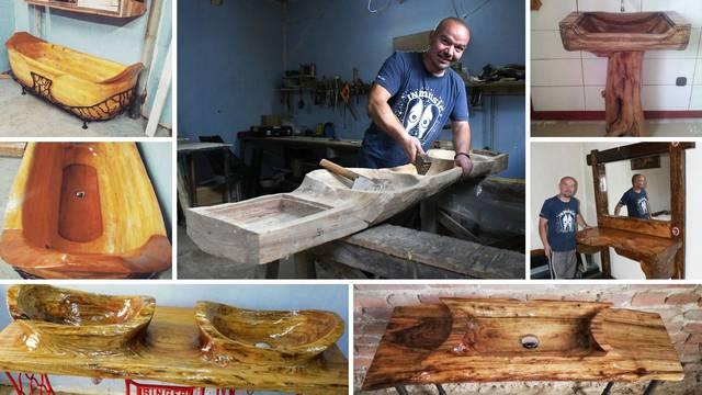 Drvena kada Slavonca Klaudija: Čuva toplinu čak do četiri sata