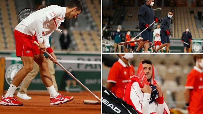 Novak opleo po sucima i Roland Garrosu: 'Netko će nastradati'