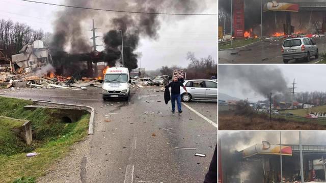 Svjedok: Auto je na benzinskoj udario u plinovod, svi su bježali