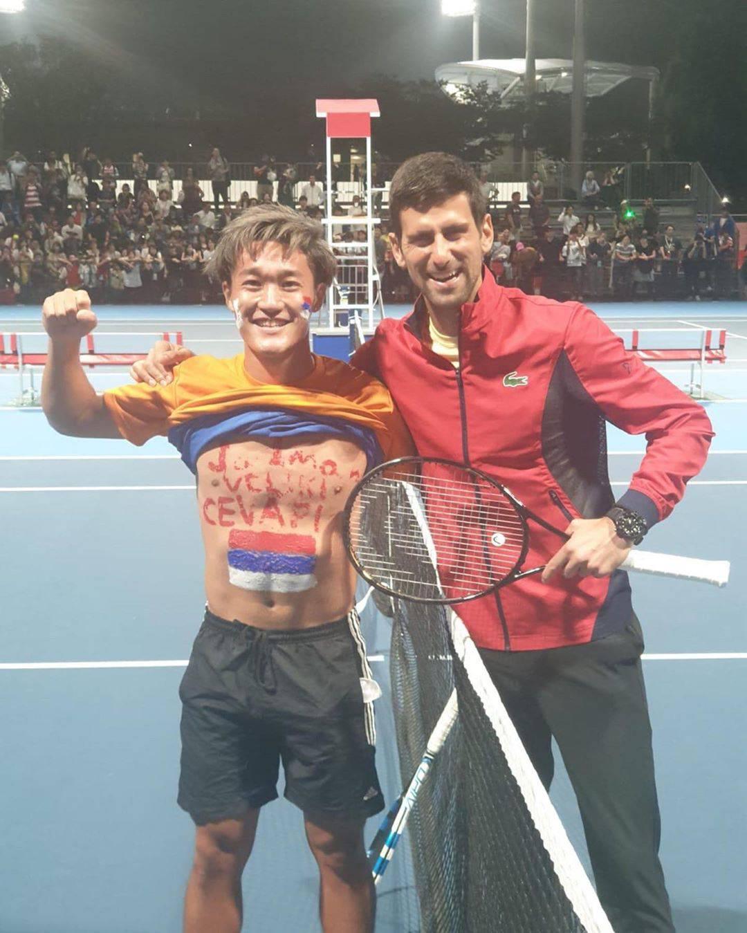 Japanac Joca obožava Novaka: 'Jedem 100 ćevapa na dan...'