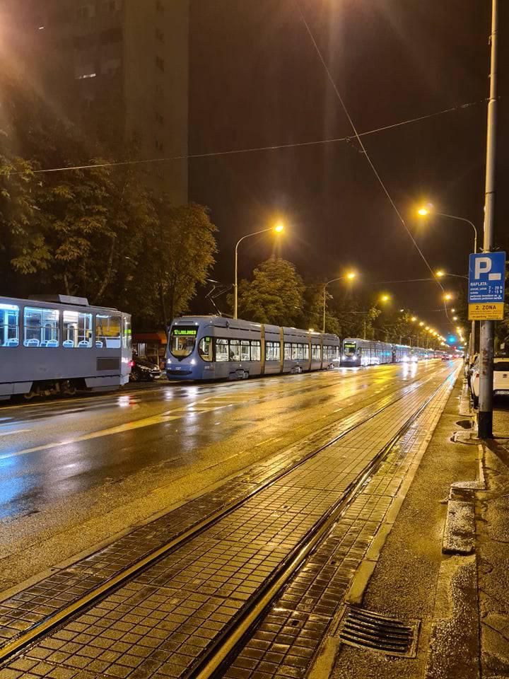 Kolone tramvaja na Jordanovcu zbog sudara dva automobila