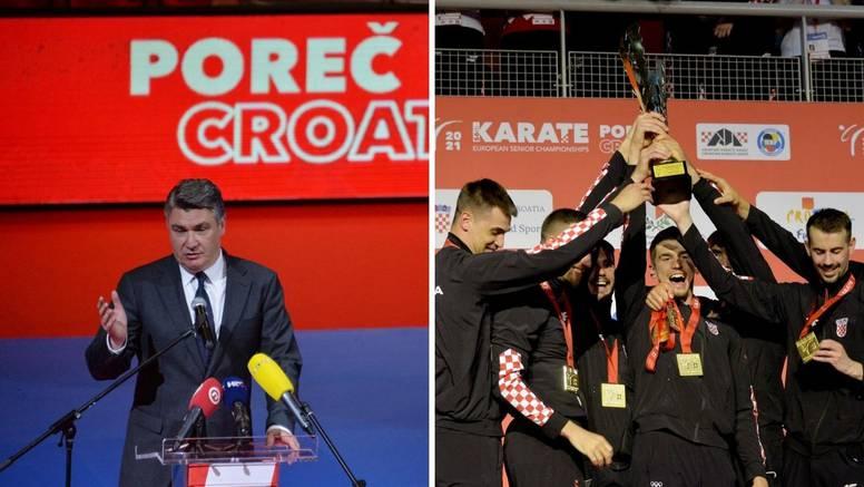 Zoki čestitao hrvatskoj karate reprezentaciji na prvom zlatu