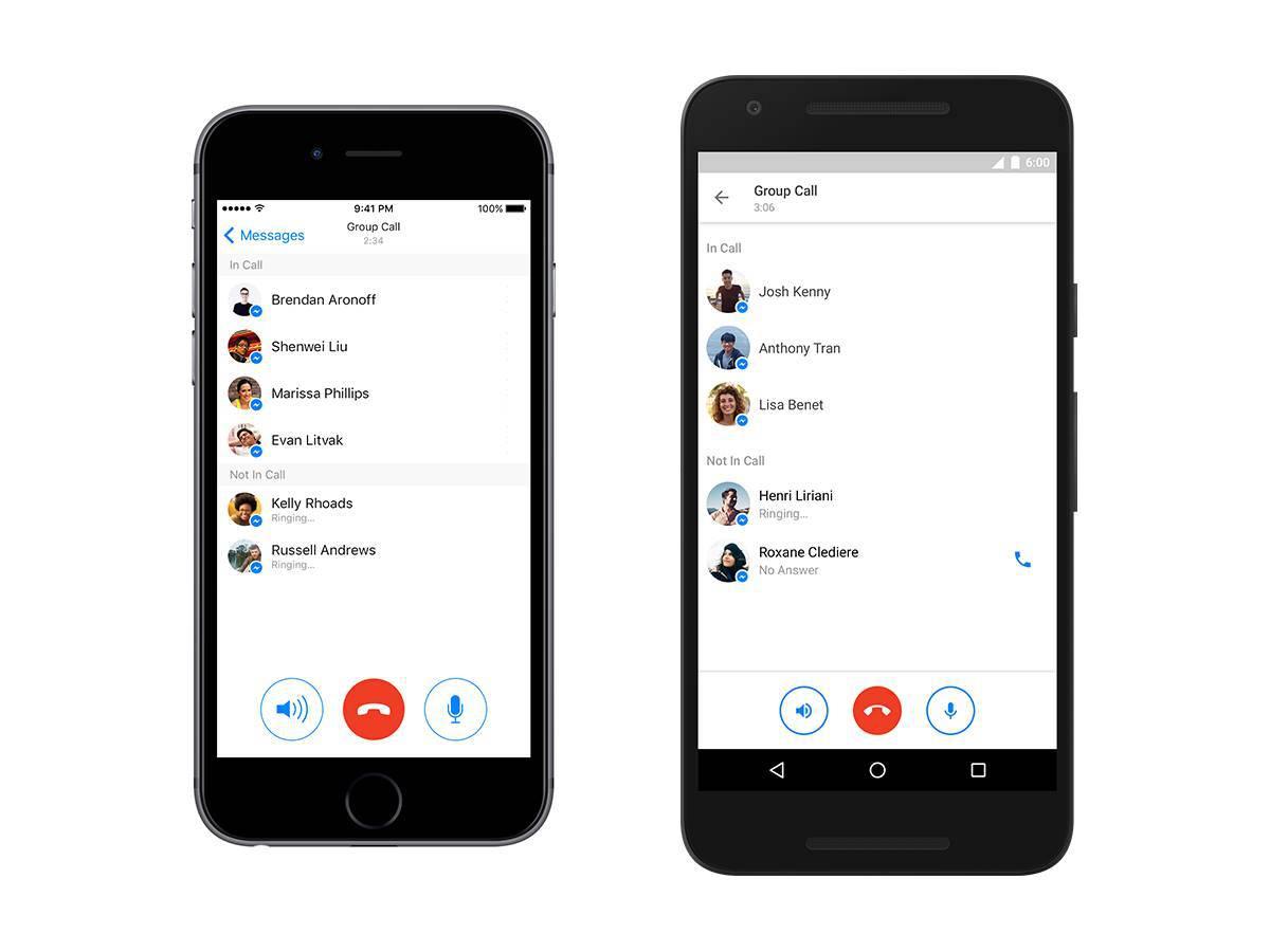 Nazovi cijelo društvo:  U Fejsov Messenger stigli grupni pozivi