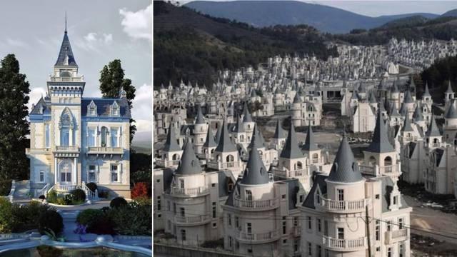 Grad duhova ispunjen dvorcima iz bajki tiho čeka bolje vrijeme