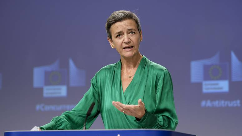 VIDEO Dobra vuna? Vestager plela dok šefica Komisije priča
