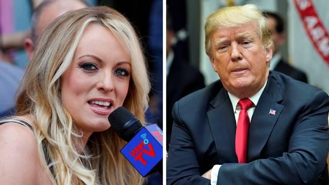 Trump o Stormy: Konjsko lice; Stormy o Trumpu: Majušni...