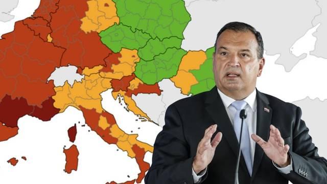 ECDC objavio novu kartu: Obala i Zagreb ostali su narančasti, u crveno otišla cijela Slavonija