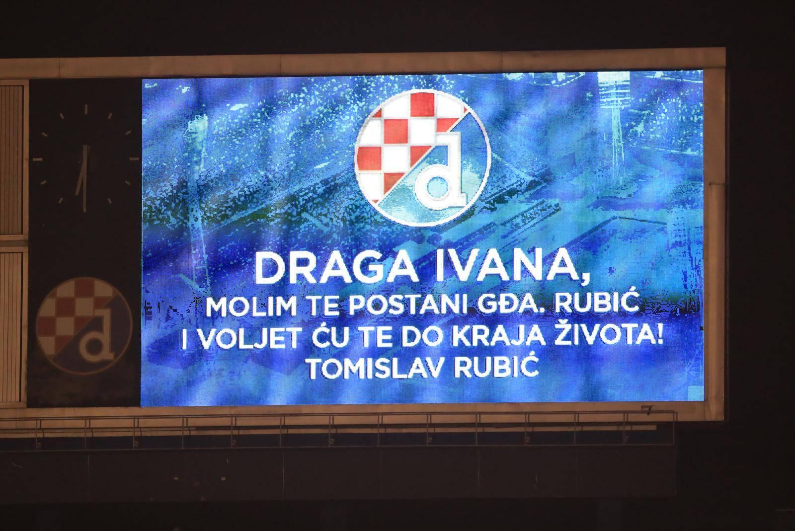 """Zagreb: Prije početka Dinamove povijesne utakmice """"pala"""" je i prošnja"""