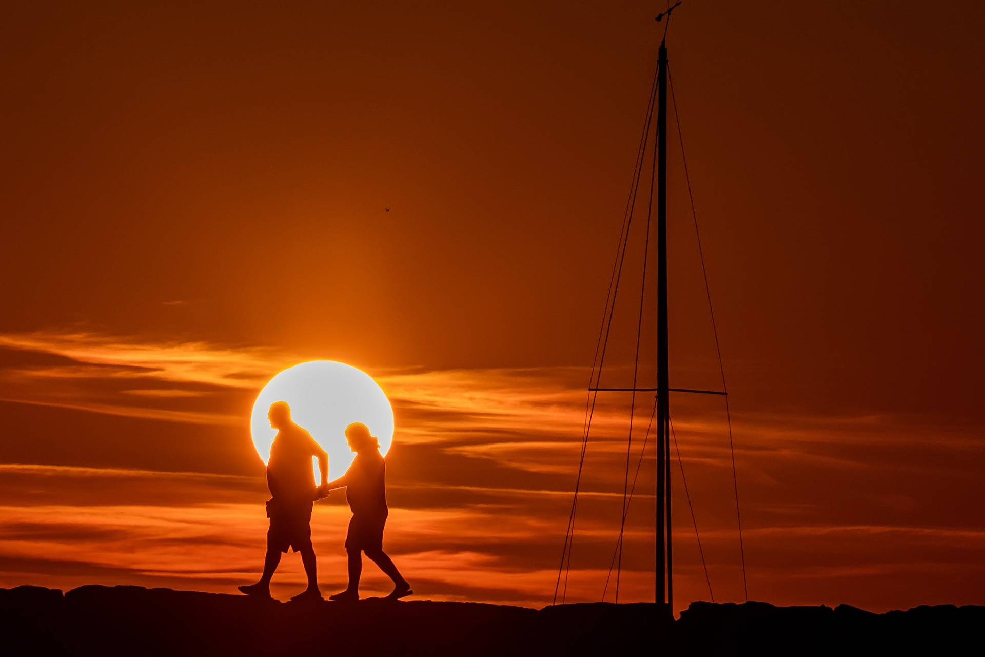 Romantični zalazak sunca u Fažani privukao je mnoge