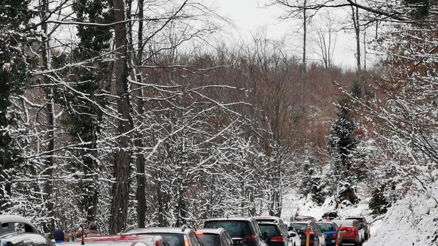 Prometni kolaps na Sljemenskoj cesti - kolona duga više od 5 kilometara