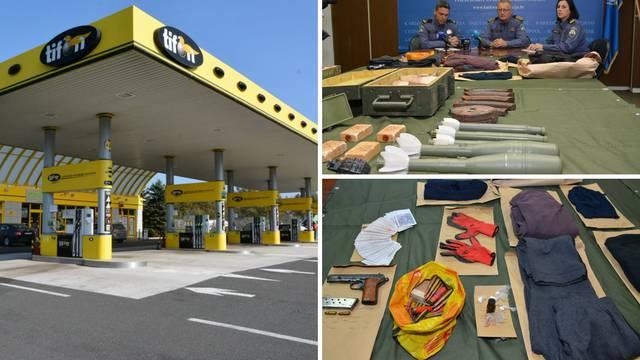 Uhitili razbojnike: Našli metke, eksploziv, pušku, minu i bombe