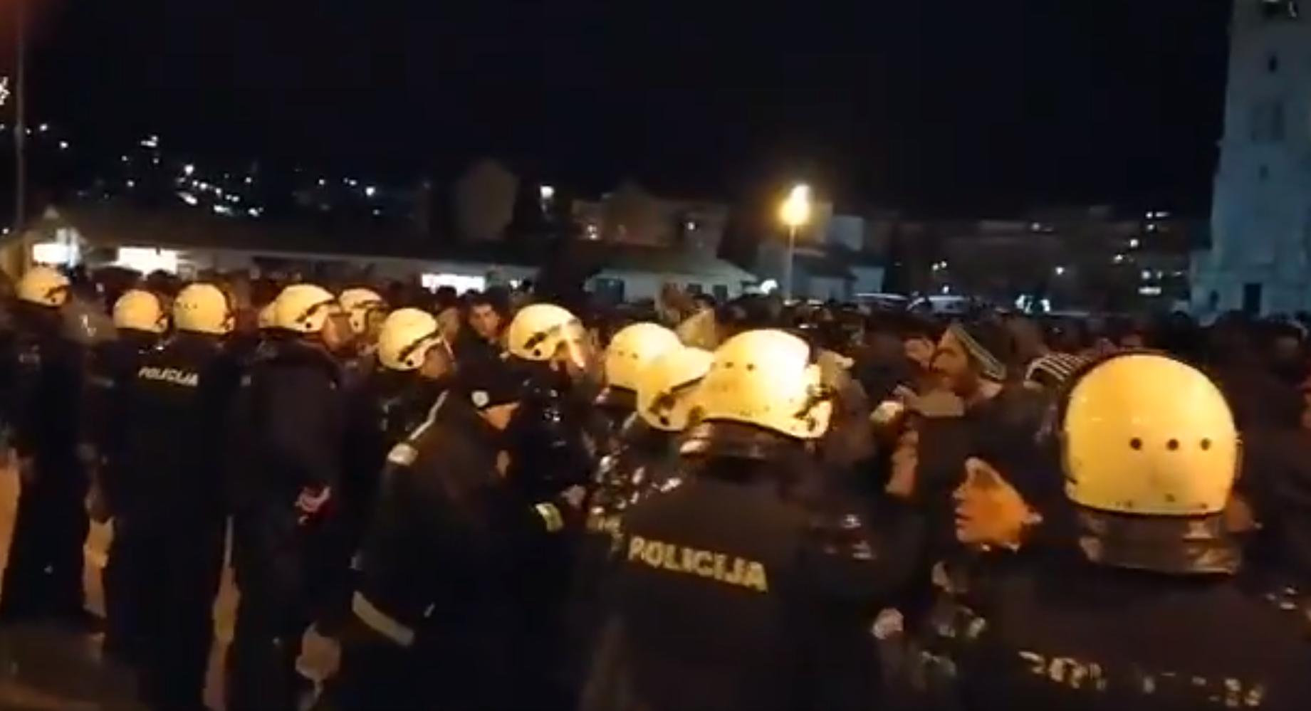 Crna Gora: Vlada osuđuje nasilje