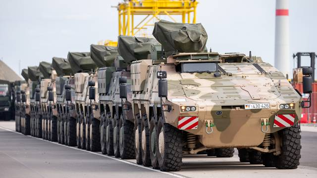 """Media Day for NATO exercise """"Trident Juncture 2018"""""""