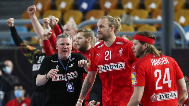2021 IHF Handball World Championship - Main Round Group 2 - Denmark v Qatar