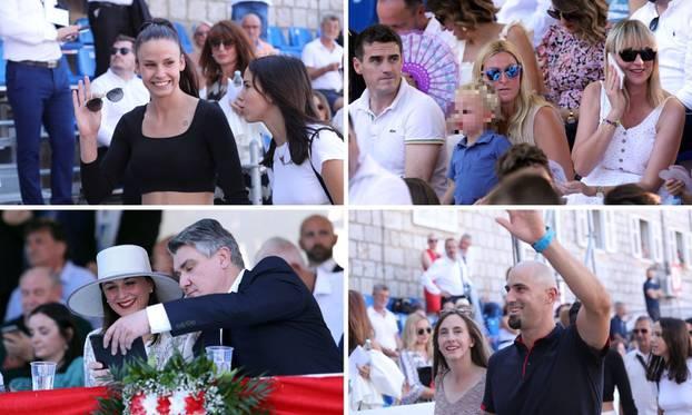 Na Sinjsku Alku stigli olimpijci, Višnjić, Milanović sa suprugom, Janica sa sinom, par Puljak...
