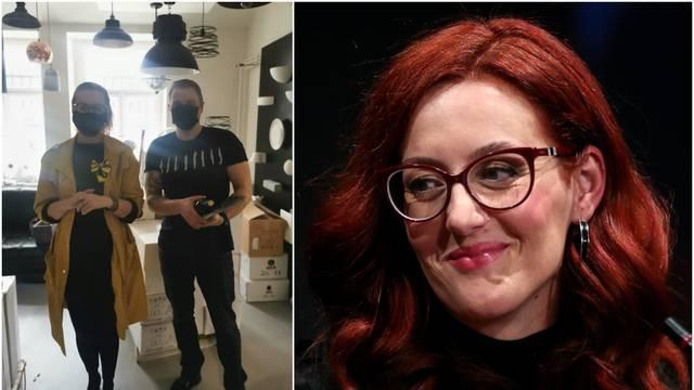 Martina Mlinarević doživjela prometnu nesreću s kćeri: 'Jedva smo živu glavu izvukle'