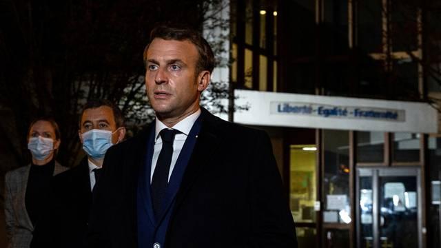 Stabbing attack in the Paris suburb of Conflans-Sainte-Honorine