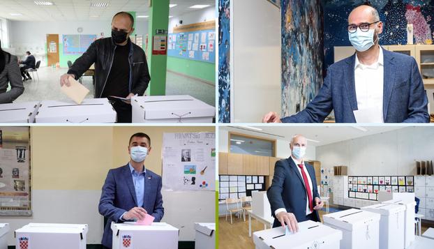 Svi su vidno raspoloženi i puni nade došli na glasačka mjesta