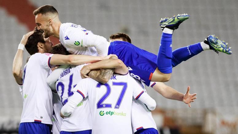 Zablistali Hajdukovi biseri: Splićani uraganom otpuhali Goricu u poluvremenu sezone!