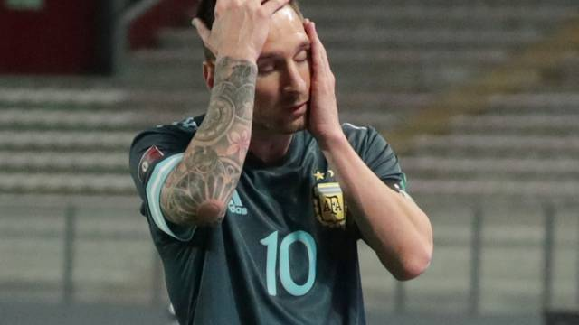 World Cup 2022 South American Qualifiers - Peru v Argentina