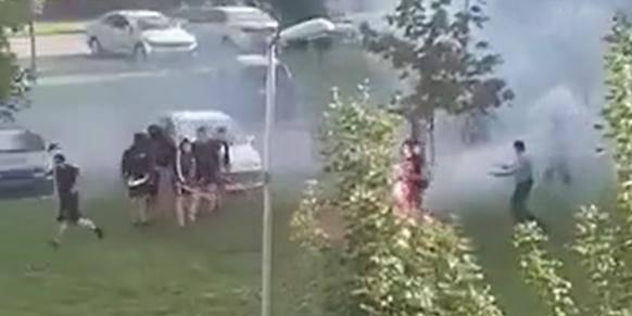 Vukovar: Tukli se BBB i Grobari!