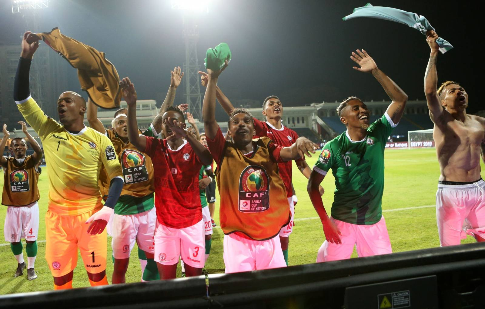 Football - Africa Cup of Nations 2019 Finals - Last 16 - Madagascar v DR Congo - Alexandria - Egypt
