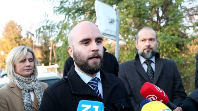 Zagreb: Građanska inicijativa Narod odlučuje održala konferenciju na Pantovčaku