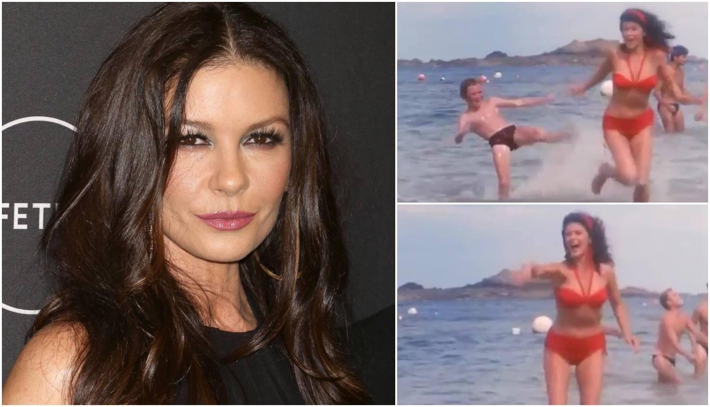 Zeta-Jones se prisjetila stare uloge: Trčala u bikiniju po plaži