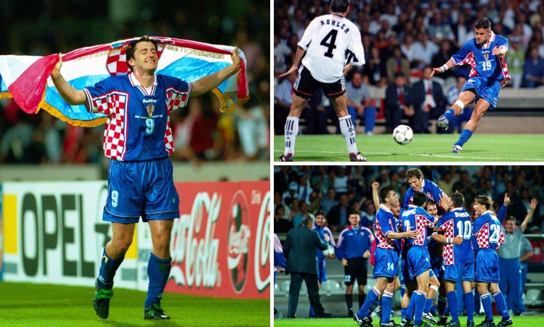 Hrvatski navijači ljubili beton, a Rođo je viknuo: Na ti, Švabo!