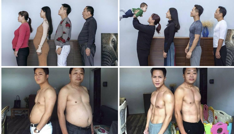 Cijela obitelj je odlučila izgubiti višak kila - i uspjeli su u tome