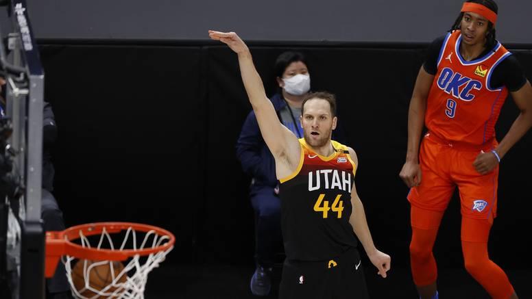Utah u play-off s prvog mjesta: Bogdanović utrpao 18 koševa, Zubac dobio šest sekundi...