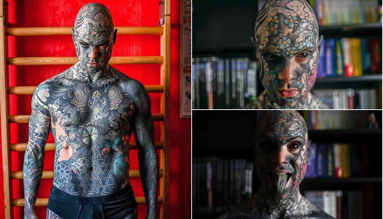 Zbog tetovaža je dobio otkaz u vrtiću: Djeca su zbog njegovog izgleda imala noćne more