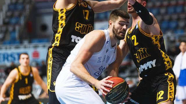 Susret 5. kola ABA lige između Zadra i Splita