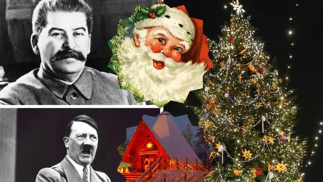 Staljin je 'oteo' Djeda mraza, a Hitler sebe stavio u 'Tihu noć'