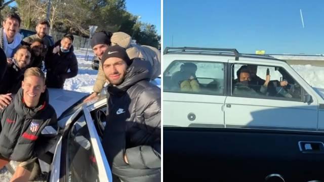 Urnebesna snimka: Vrsaljko i ekipa s Pandom pretekli zvijer