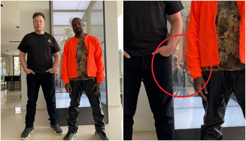 Kanye West pozirao s Muskom, detalj u pozadini 'ukrao' pažnju