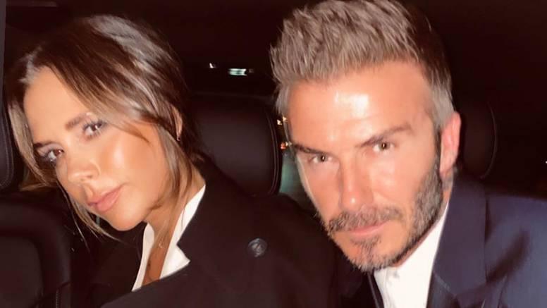 Victoria i David u sličnoj odjeći